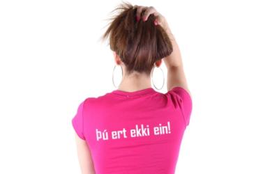 Þú ert ekki ein – við erum margar