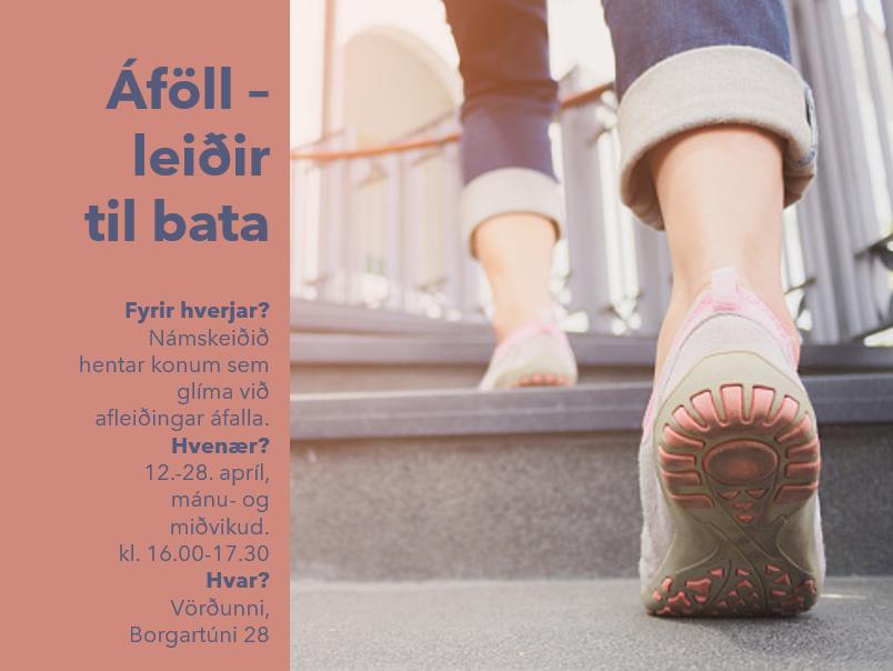 Áföll – leiðir til bata